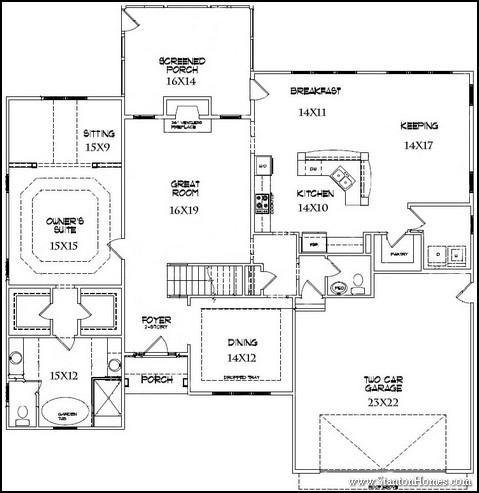 Attirant Top 5 Downstairs Master Bedroom Floor Plans