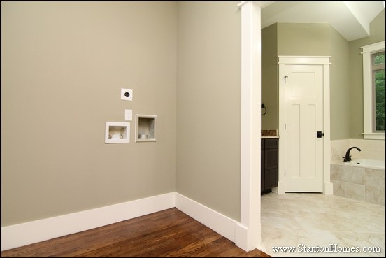 What's the Best Place for a Laundry Room? Chapel Hill House Plans