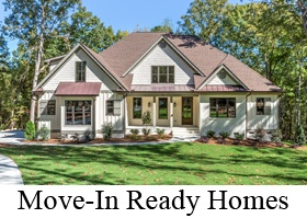 Move-In Ready New Homes Raleigh