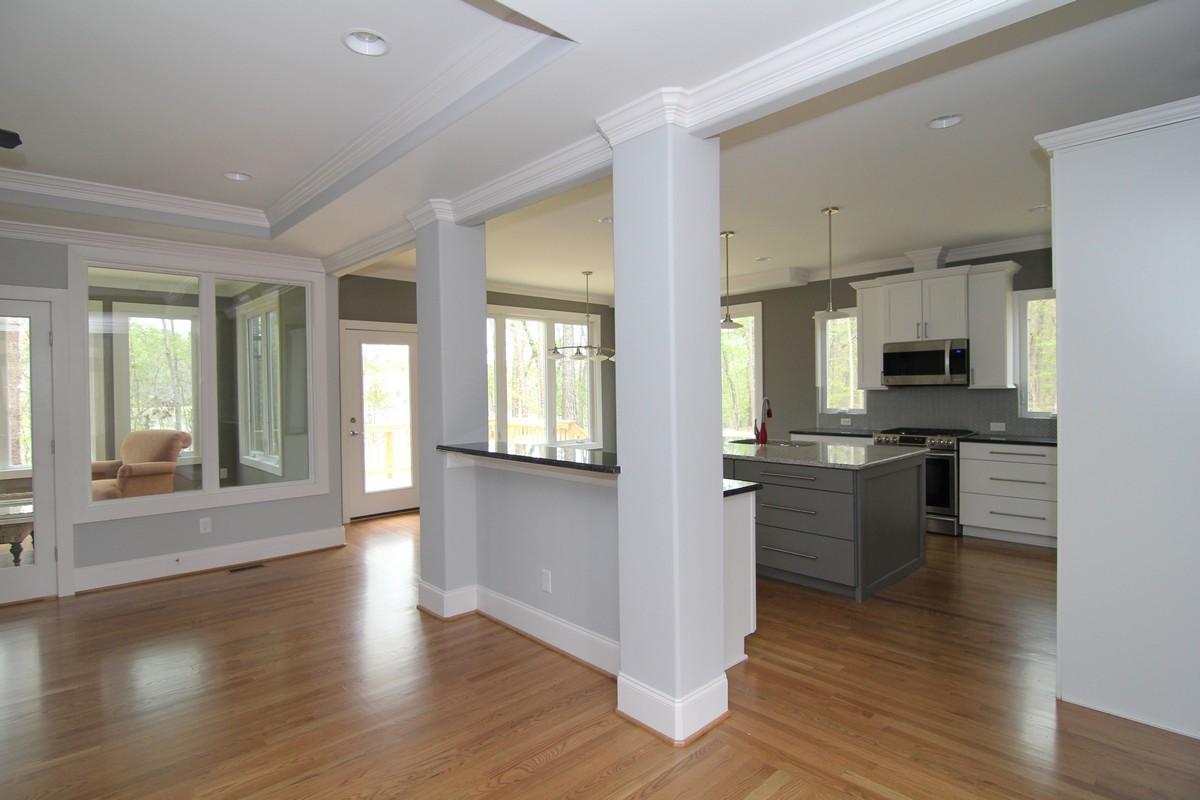 Interior Column Photos | Raleigh New Homes