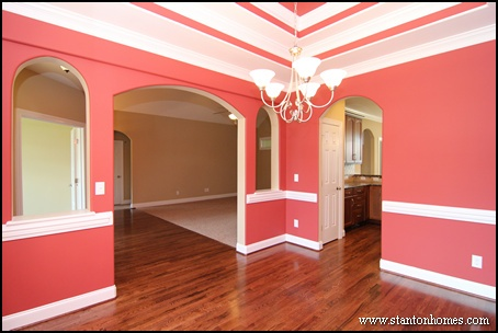 red dining room colors. top 5 red paint colors for the dining room | north carolina custom homes i