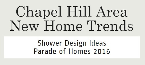 Shower Trends | Orange County New Home Builders