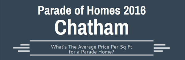Price Per Sq Ft for a Parade Home | Orange Chatham Durham Parade of Homes