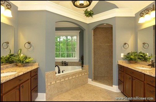 Best Blue Paint Colors for Bathrooms | Raleigh Custom Home Builders