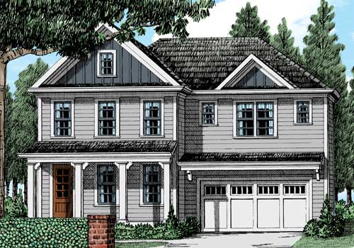 Cary NC New Homes   Popular Frank Betz House Plans