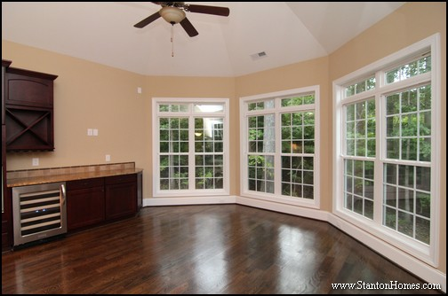 Sun Room Photos | Raleigh New Homes with Sunroom
