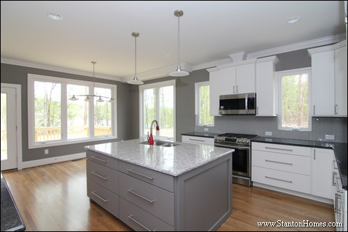 Black and White Kitchen Countertops | Two Tones vs One Color