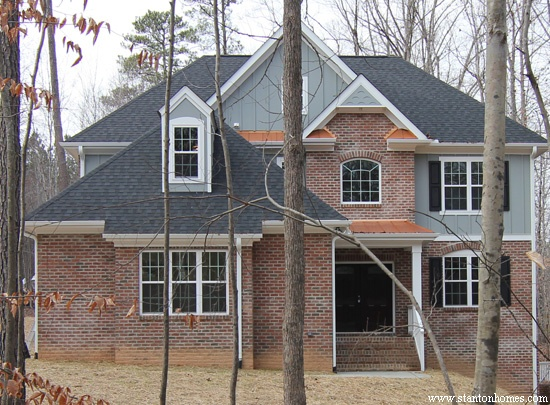 Gray Exterior Paint Colors | Raleigh new homes