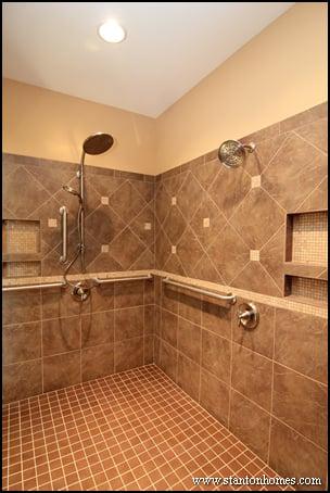 Wheelchair Accessible Bathroom Showers