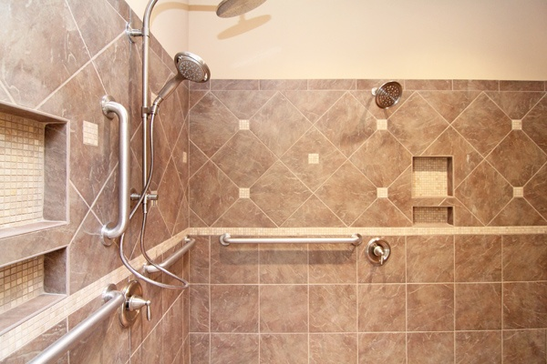 Accessible Bathroom Shower Designs   Wheelchair Accessible Homes