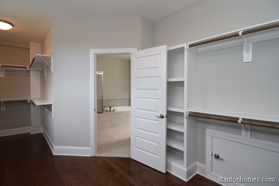 Charmant Average Walk In Closet Size   Raleigh New Homes