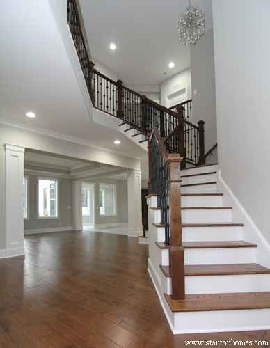 Overlook Ideas | two story Raleigh new homes