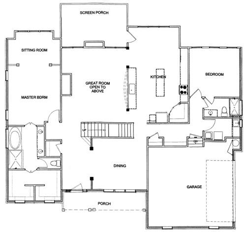 Main Floor Master Home Plan: 5 Main Floor Master Floor Plans Designed For Families