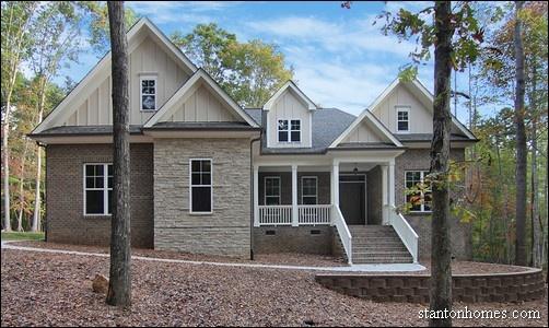 Chapel Hill Custom Home Plan