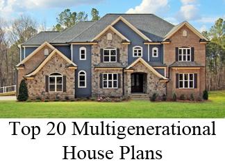 Multigenerational House Plans