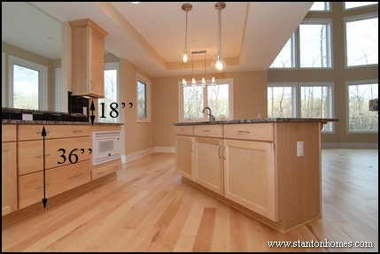 tall kitchen islands standard kitchen counter height for raleigh new homes 2660