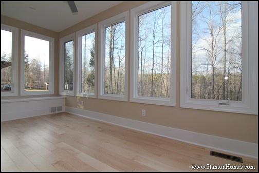 Sun Room Photos | Raleigh New Homes with Sunroom
