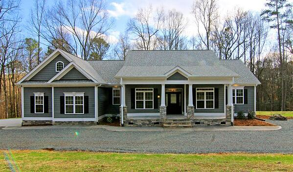 farmhouse style homes raleigh new home builders - Farmhouse Builders