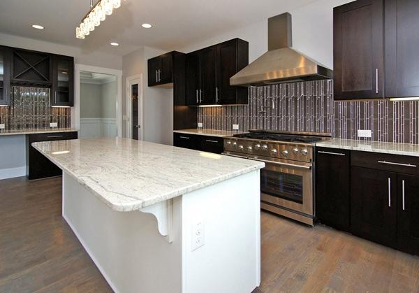 Kitchen Tile Backsplash   Custom Home Kitchen Styles   Kitchen Design Ideas