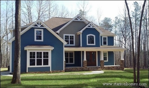 Blue Exterior Paint Colors | SW Bunglehouse Blue Part 50