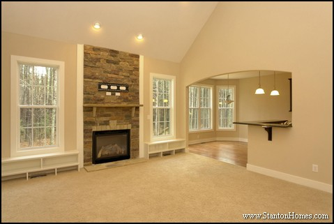 Floor Plans with a Great Room | Raleigh Custom Homes