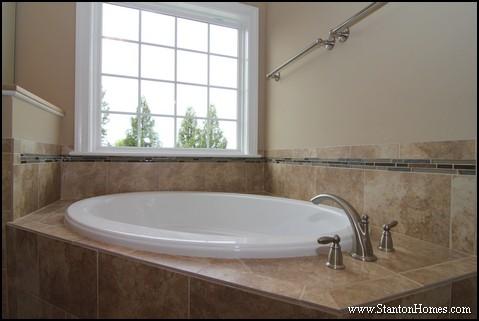 Tile Tub Surround Ideas   Blue Bathroom Tile Ideas