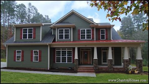 craftsman house plans craftsman exterior colors