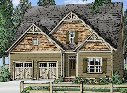 Winning first floor master floor plan nc custom homes for Custom home floor plans with cost to build