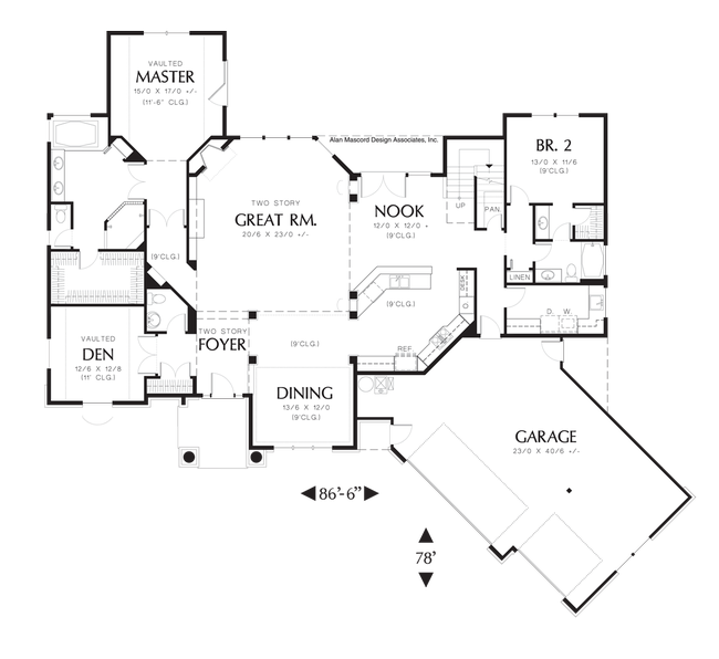 foresman - 1200 Sq Ft House Plans Two Master Bedrooms