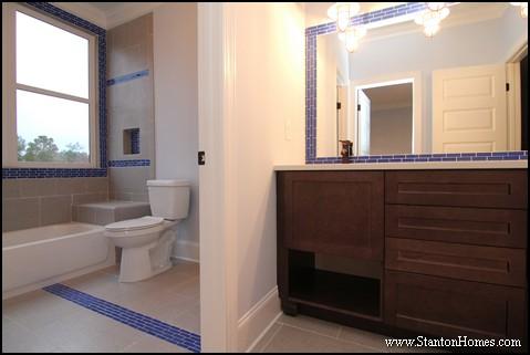 Tile Tub Surround Ideas | Blue Bathroom Tile Ideas