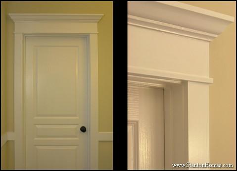 Crown Moulding Ideas | Raleigh Custom Home Trim Styles