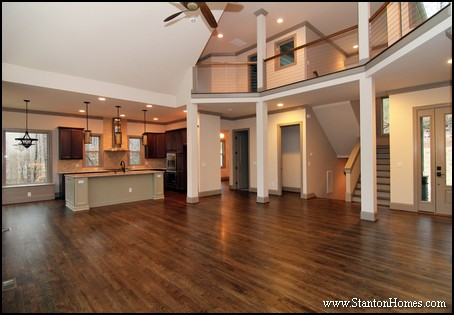Raleigh Custom Home Builder | Foyer Ceiling Treatments