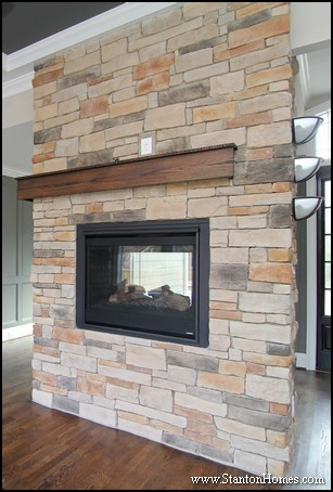 Five Wood Fireplace Mantel Designs | Raleigh Custom Homes for Sale