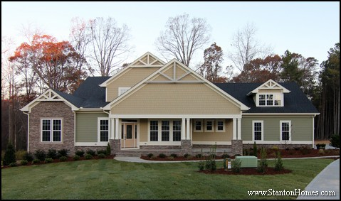 10 popular exterior styles craftsman house plans for Home design style names